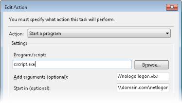 Task Properties Dialog